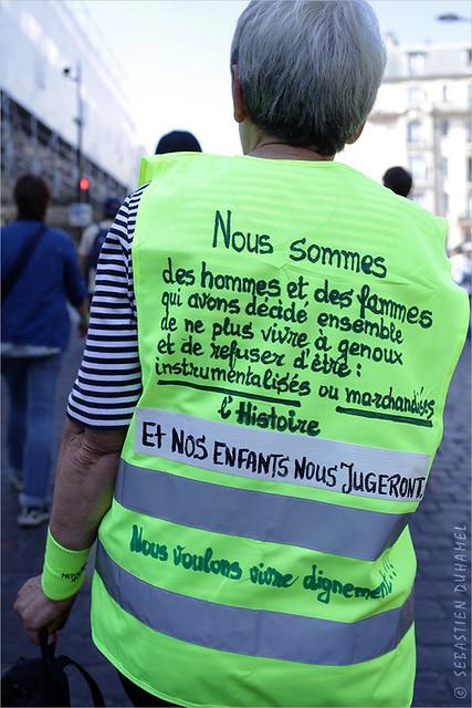 Acte XXXXIIII des Gilets jaunes ✔ Paris 14 sept. 2019 IMG190914_016_©2019   Fichier Flickr 1000x667Px Fichier d'impression 5610x3740Px-300dpi