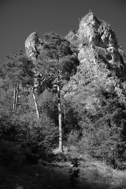 Mountain scene, Maira Valley. Much better viewed large.