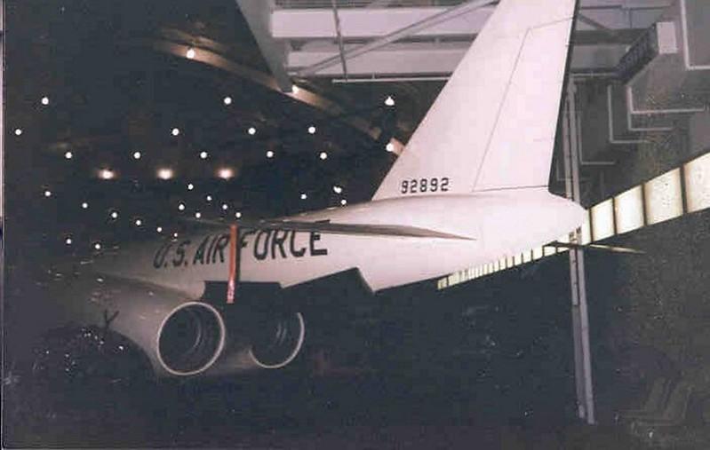Douglas X-3 3