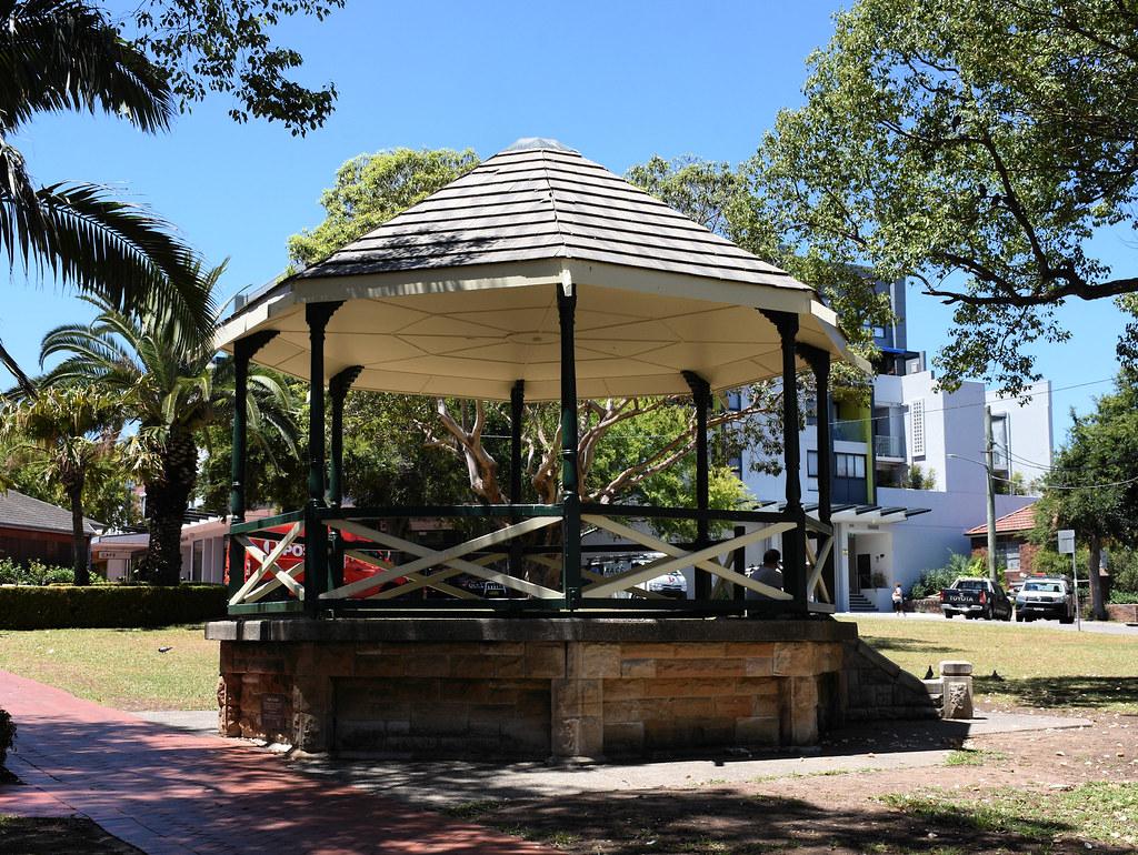 Rotunda, Anzac Square, Campsie, Sydney, NSW.