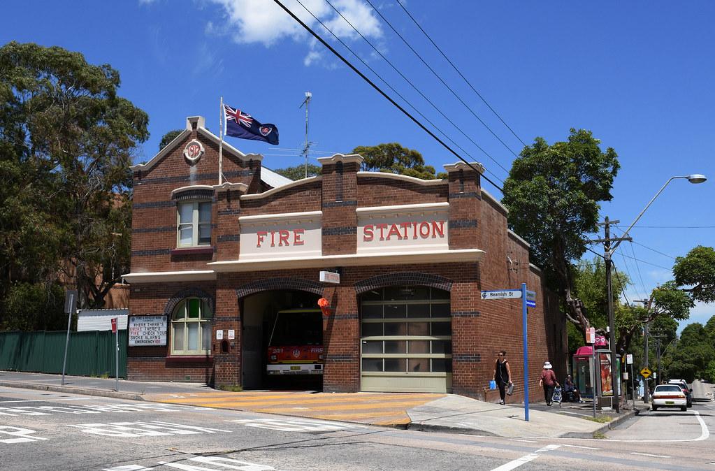 Fire Station, Campsie, Sydney, NSW.