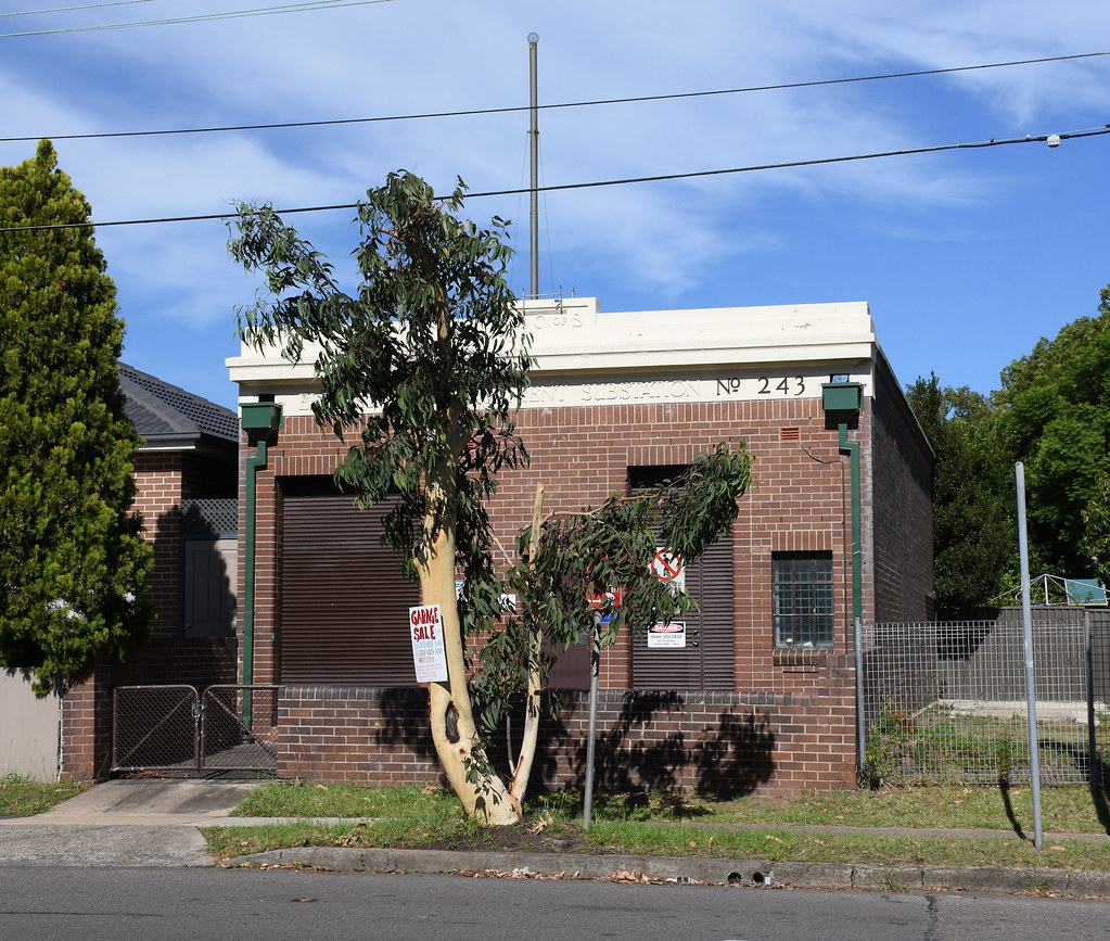 Electricity Sub Station No 243, Concord, Sydney, NSW.