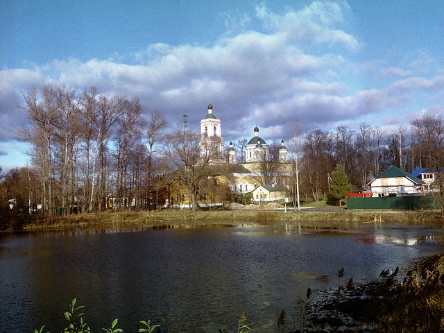 Church of the Transfiguration in Spas-Zaulok