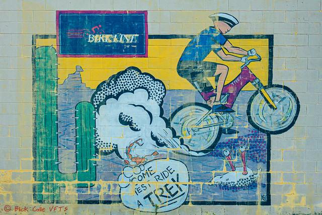 Bikeline Mural