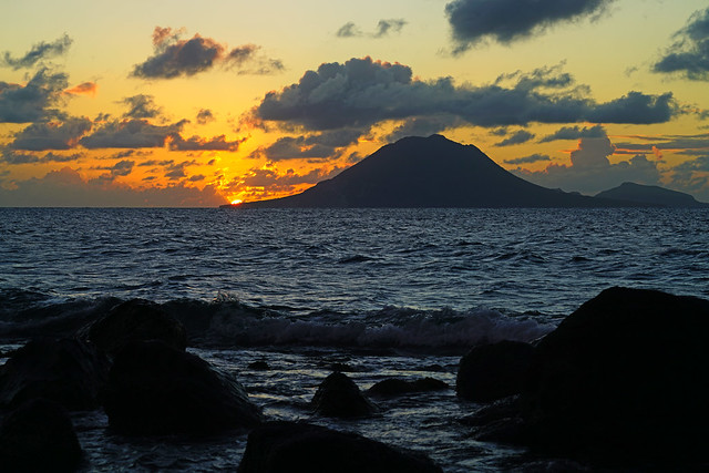 Another wonderful Caribbean evening, St Kitts