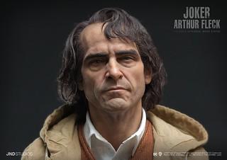 極致擬真!JND STUDIOS《小丑 JOKER》亞瑟·佛萊克 1/3比例超現實電影雕像