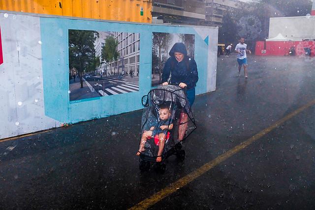 Hot summer, Stormy rain ...!