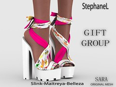GIFT [StephaneL] SARA SHOES