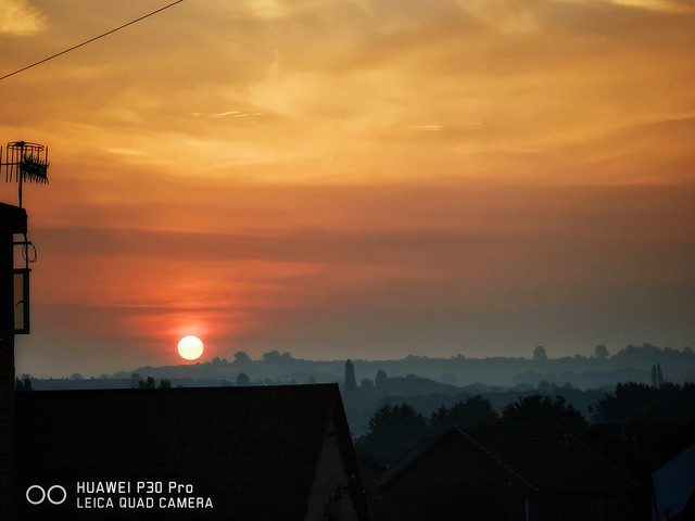 SunRize shot at 5x optical Zoom