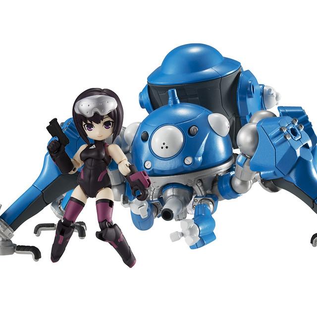 Desktop Army「草薙素子&塔奇克馬」可動人偶明年 01 月推出 《攻殻機動隊 SAC_2045》新造型登場!