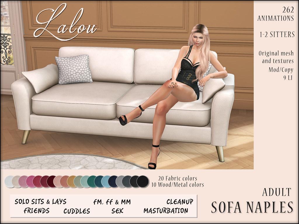 Lalou – Sofa Naples @ FameshedX