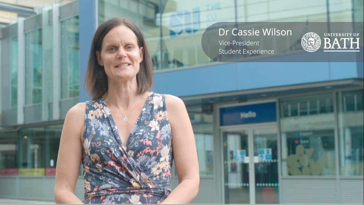 Dr Cassie Wilson, Vice-President Student Experience