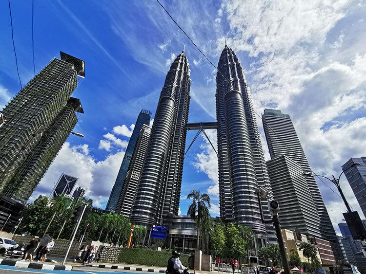Petronas Twin Towers in Malaysia KL