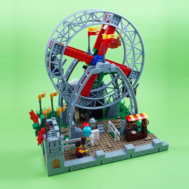 Dragon Ferris Wheel | LEGO Masters Challenge