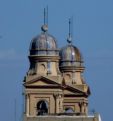 Bell Towers of Montevideo Metropolitan Cathedral, Uruguay