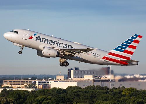minneapolisstpaulinternationalairport kmsp msp mspairport americanairlines n753us airbus a319 a319112 aal1040 mspphx