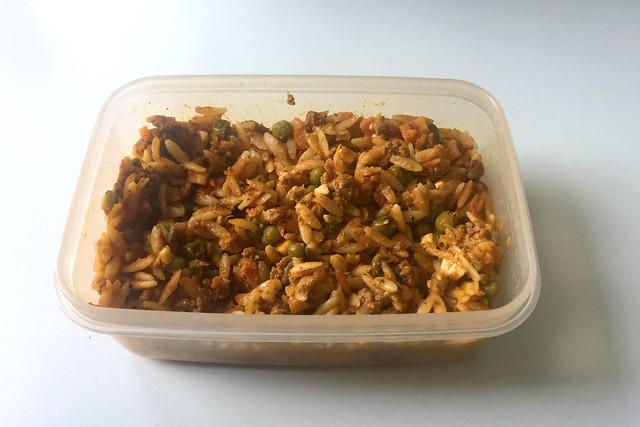 Greek kritharaki casserole with feta - Leftovers IV / Griechischer Kritharaki-Hack-Auflauf mit Feta - Resteverbrauch IV