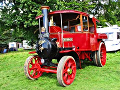robertknight16 posted a photo:	Foden rtpe AD Steam Wagon (1928) Engine Number 13255Name GeorgeOwner Mike Wilkinson, BlackpoolRegistration Number VJ 1476 (Herefordshire)FODEN SETwww.flickr.com/photos/45676495@N05/sets/72157623789275606...Foden AD type three speed timber tractor. Originally supplied new to Herefordshire County Council who retained it for seven years, and has since had eight owners. It is called George after its current owners fatherThankyou for a massive 53,864,391 views Shot 29.08.2016 at Shrewesbury Steam Rally, Onslow Park, Shrewesbury REF 119-253