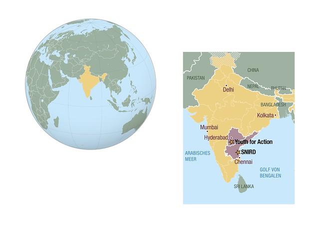 Sternsingerprojekte in Süd-Indien