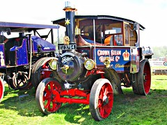 robertknight16 posted a photo:	Foden type AD Steam Wagon (1928)Engine Number 13068Name PerseveranceOwner Peter Richardson, PeterboroughRegistration Number EU 3764 (Bournemouth)FODEN SETwww.flickr.com/photos/45676495@N05/sets/72157623789275606...Originally employed in the Brecon area and later for bomb site demolition in London during the BlitzThankyou for a massive 53,864,391 views Shot 29.08.2016 at Shrewesbury Steam Rally, Onslow Park, Shrewesbury REF 119-255