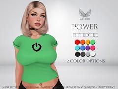 [Ari-Pari] Power Tee