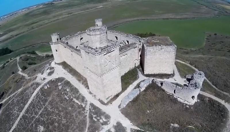 castillo Barcience vista aérea