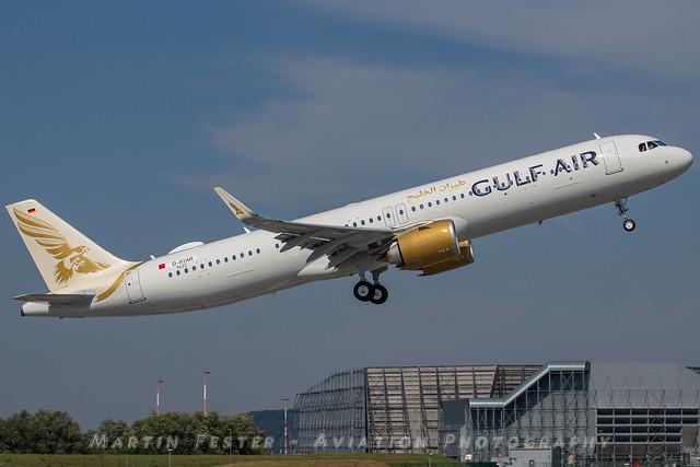 D-AYAR // Gulf Air // A321-253NX // MSN 9433 // A9C-NA