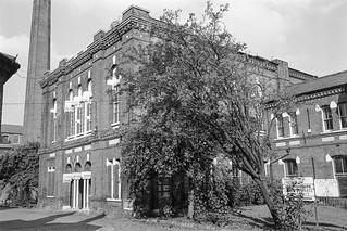 Lambeth Hospital, Renfrew Rd, Kennington, Lambeth, 1987 87-10l-65-positive_2400