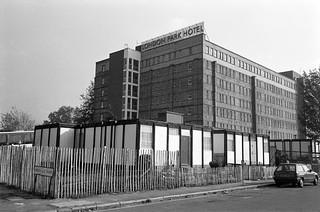 Temporary Housing, London Park Hotel, Dante Rd, Newington, Southwark, 1987 87-10k-33-positive_2400