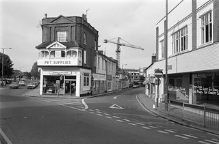 Clarence St, Church St, Staines, Middx, 1987, Spelthorne 87-10i-51-positive_2400