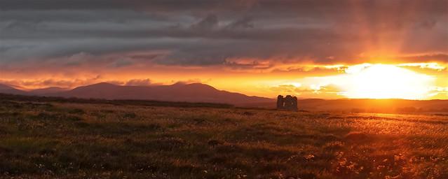 Fala Moor Sunset