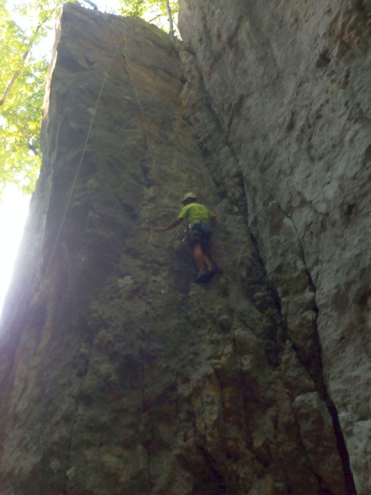 Klettern Unteri Tannenflue 11.08.2020