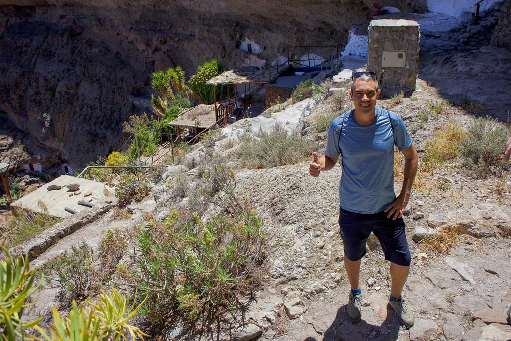 Senderismo en Acusa Seca en Gran Canaria