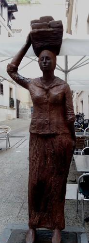 La figura de la mujer.