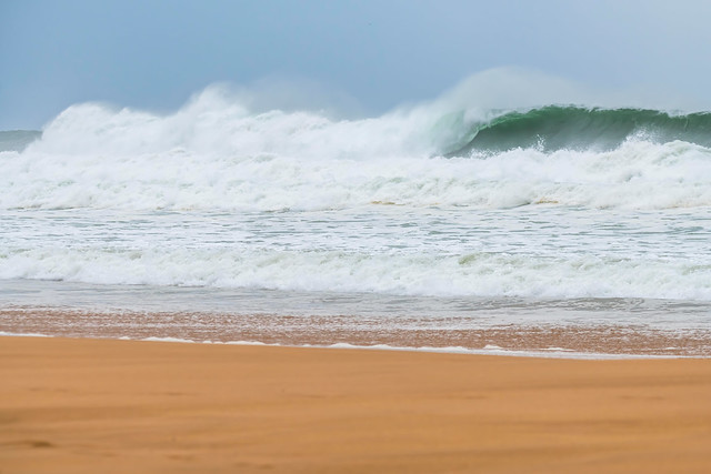 Southerly Swell at the Seaside
