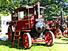robertknight16 posted a photo:	Foden rtpe AD Steam Wagon (1928) Engine Number 13255Name GeorgeOwner Mike Wilkinson, BlackpoolRegistration Number VJ 1476 (Herefordshire)FODEN SETwww.flickr.com/photos/45676495@N05/sets/72157623789275606...Foden AD type three speed timber tractor. Originally supplied new to Herefordshire County Council who retained it for seven years, and has since had eight owners. It is called George after its current owners fatherThankyou for a massive 53,864,391 views Shot 29.08.2016 at Shrewesbury Steam Rally, Onslow Park, Shrewesbury REF 119-254