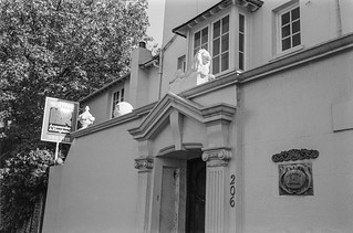 Clarence Cottage, Albany St, Regent's Park, Camden, 1987 87-10b-15-positive_2400