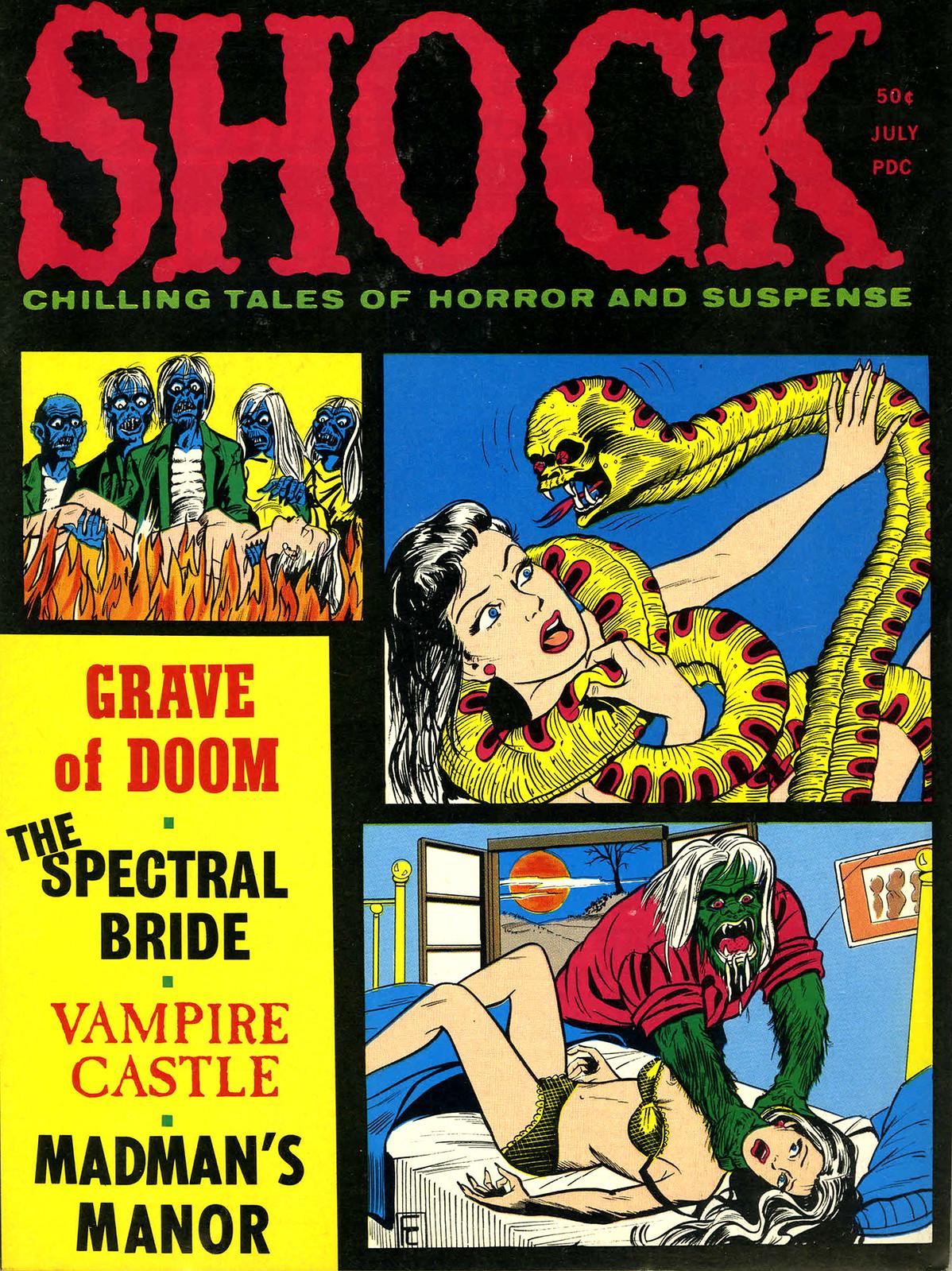 Shock - Volume 3, Issue 03, July 1971