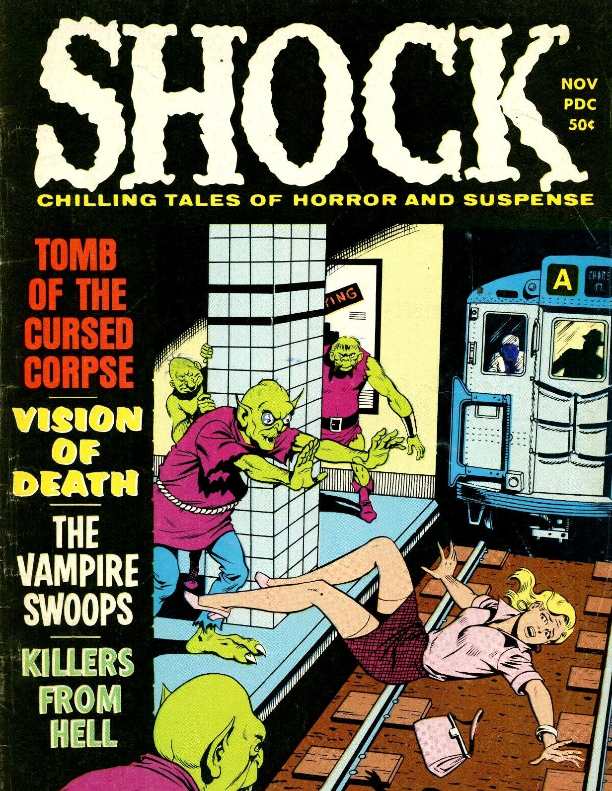 Shock - Volume 2, Issue 05, November 1970