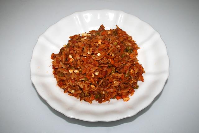 Greek kritharaki casserole with feta - Leftovers II / Griechischer Kritharaki-Hack-Auflauf mit Feta - Resteverbrauch II