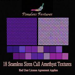 TT 18 Seamless Siren Call Amethyst Timeless Textures