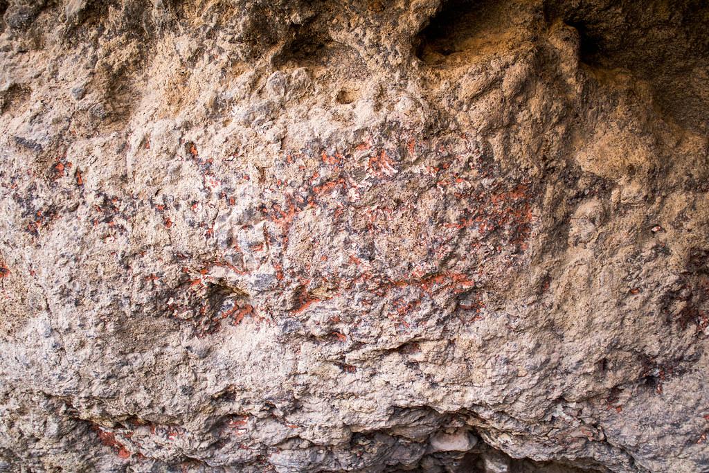 Grabados rupestres en Acusa Seca en Gran Canaria