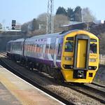 Northern Rail Class 158 158752 - Blackburn