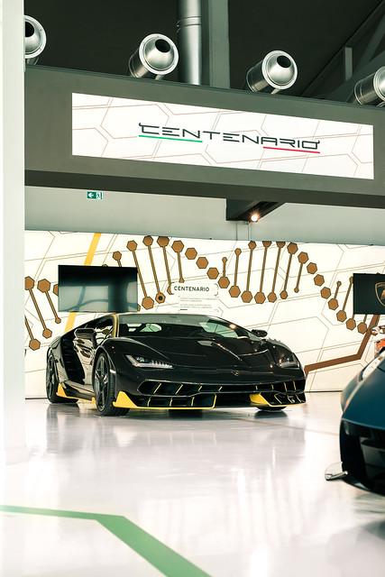 For the 100th birthday of Ferruccio Lamborghini