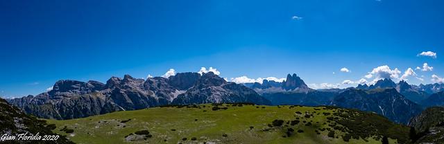 Panorama da Monte Specie (Strudelkopf)
