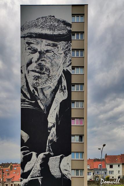 Street-Art à Boulogne-sur-Mer