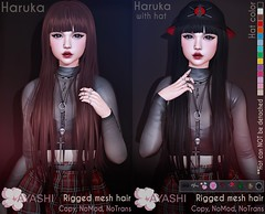 [^.^Ayashi^.^] Haruka hair with or without hat special for The Cosmopolitan