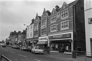 High St, Staines, Middx, 1987, Spelthorne 87-10i-03-positive_2400