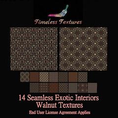 TT 14 Seamless Exotic Interiors Walnut Timeless Textures