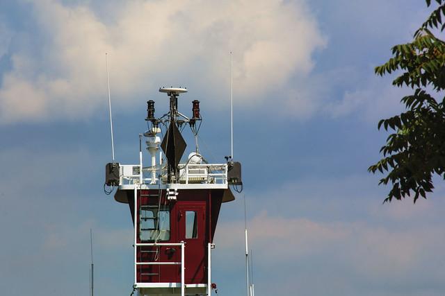 Flying Bridge--Tug Alice Winslow